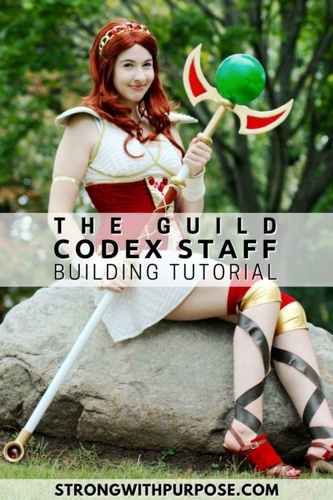 The Guild Codex Staff Building Tutorial - Strong with Purpose