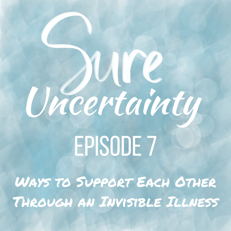 Ways to Support Each Other Through an Invisible Illness
