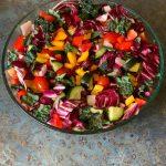 A Delicious & Nutrient-Dense Wild Rainbow Salad