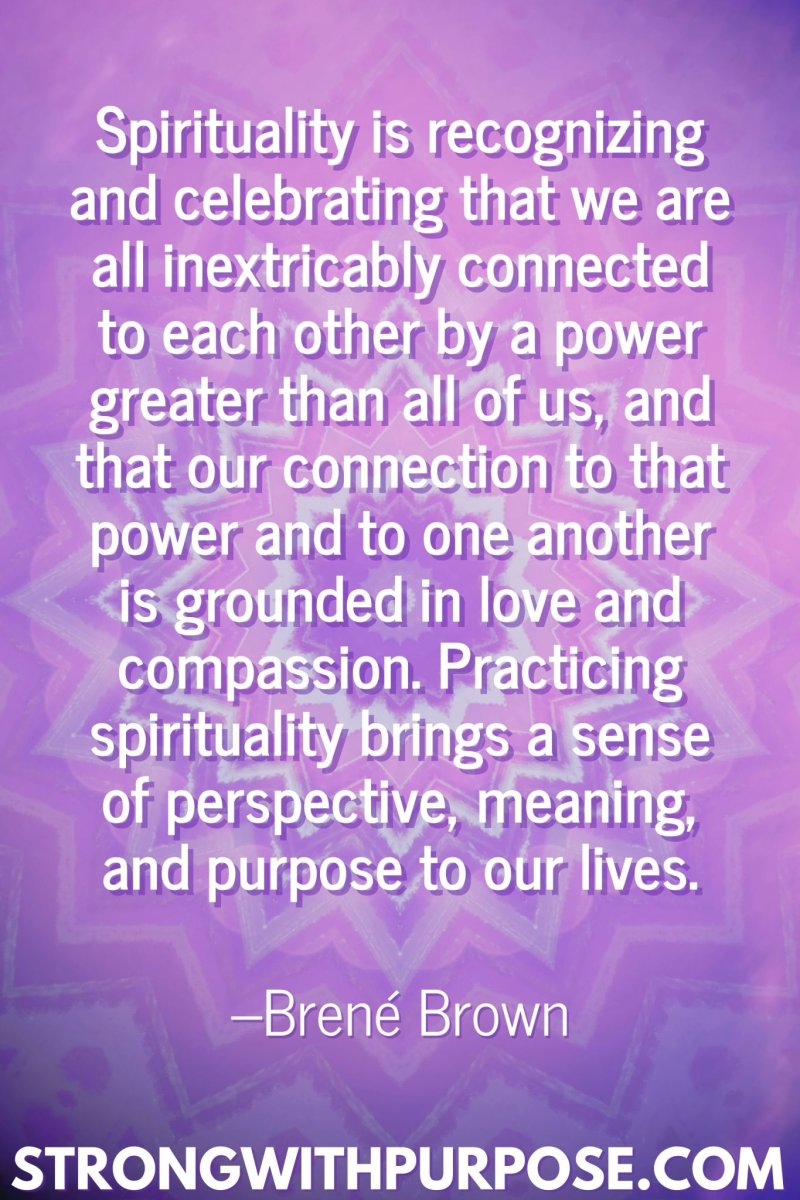 11 Inspiring Connection Quotes - We are all inextricably connected to each other - Strong with Purpose