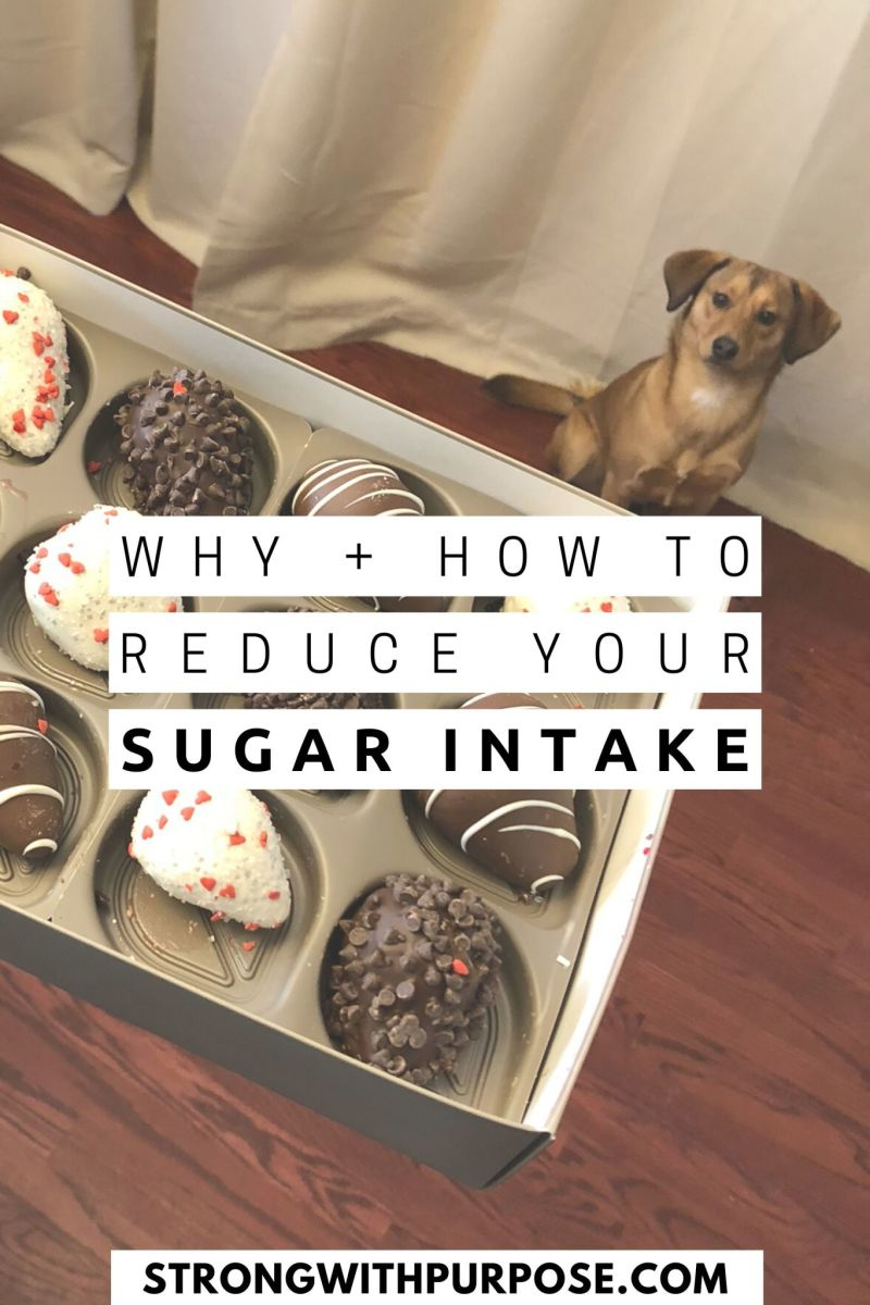 Why and How to Reduce Your Sugar Intake - Strong with Purpose