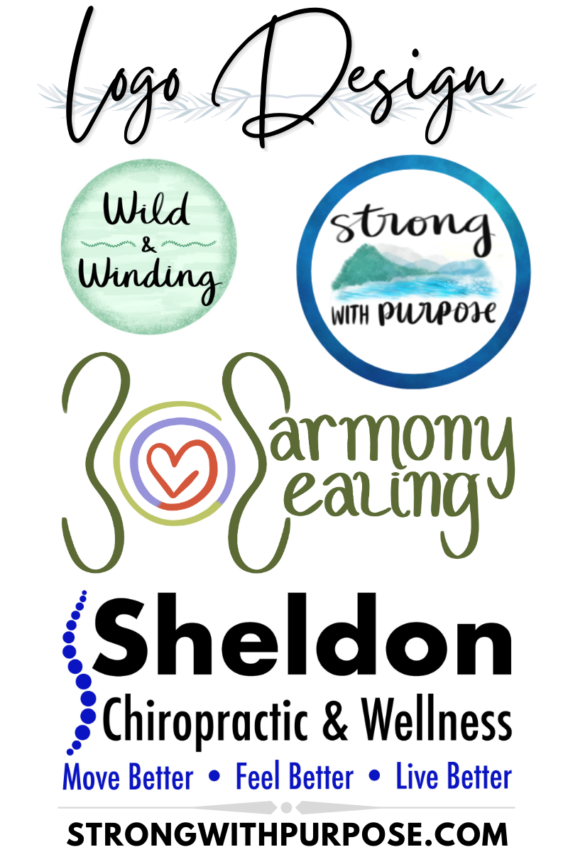 Logo Design - Graphics by Strong with Purpose