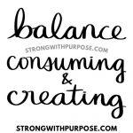 Balance Consuming and Creating